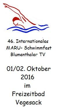 46. Internationales Maru-Schwimmfest
